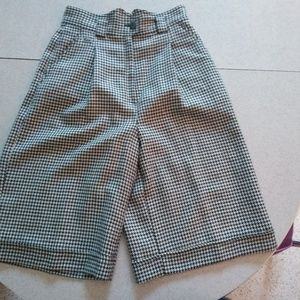 Lacoste Plaid Shorts Women Vintage